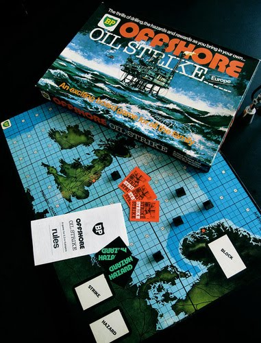 BP Offshore Oilstrike the Board Game