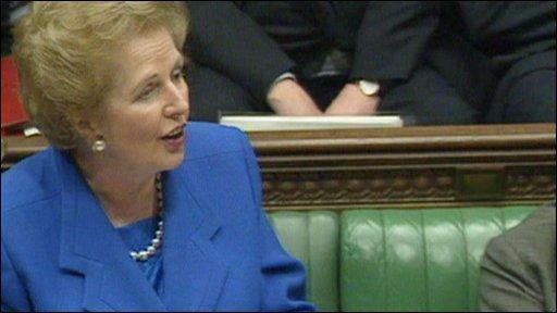 """Thatcher """"No,No,No"""""""
