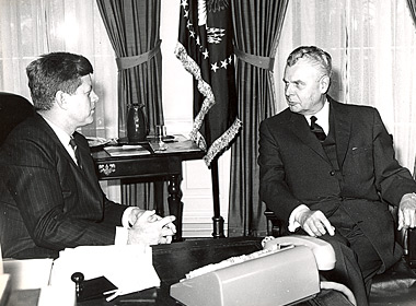 Diefenbaker and Kennedy