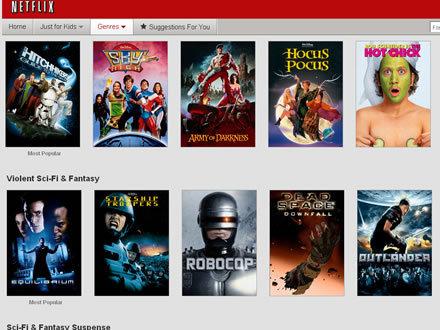 Netflix Crappy Options