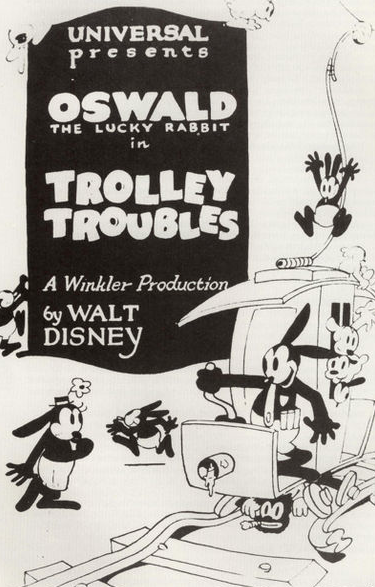 This is the cartoon character developed by Iwerks and Disney. It was subsequently stolen by Charles Mintz.