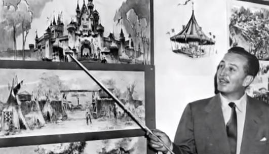 Walt Disney Amusement Park