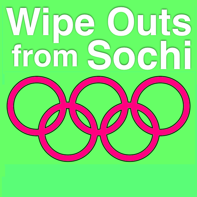 Wipe Outs from the Oympic Games