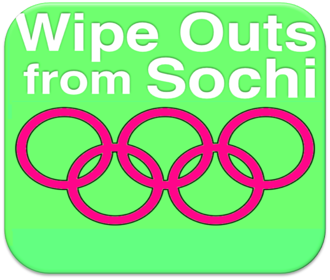 Wipe Outs from Sochi 2014