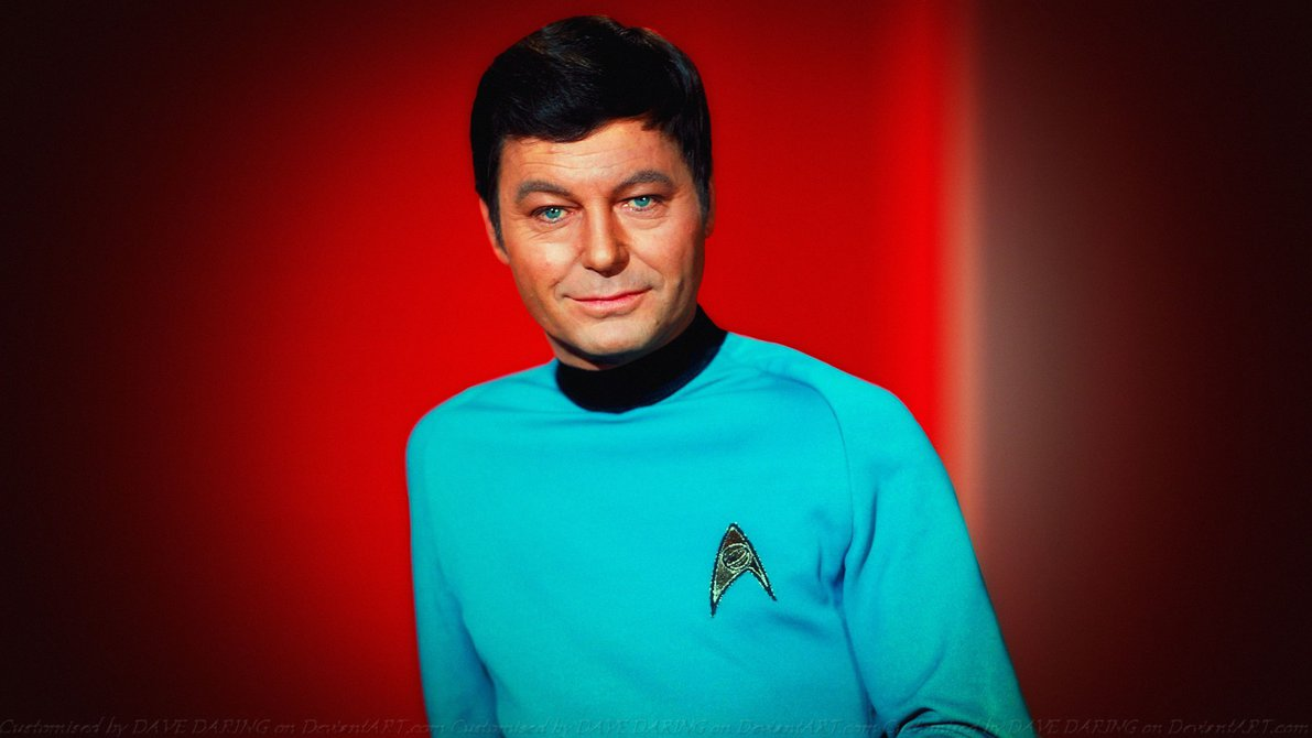 Explaining the Success of Star Trek DeForest Kelley