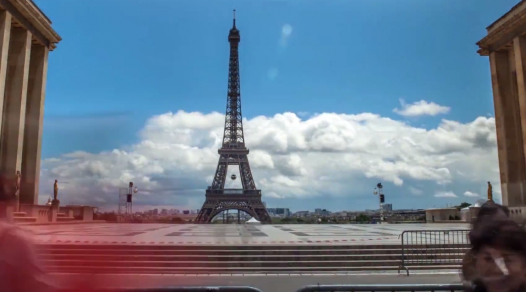 Paris in time-lapse by Mayeul Akpovi