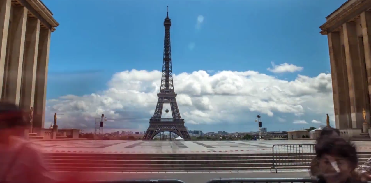 Paris in time-lapse by Mayeul Akpovi