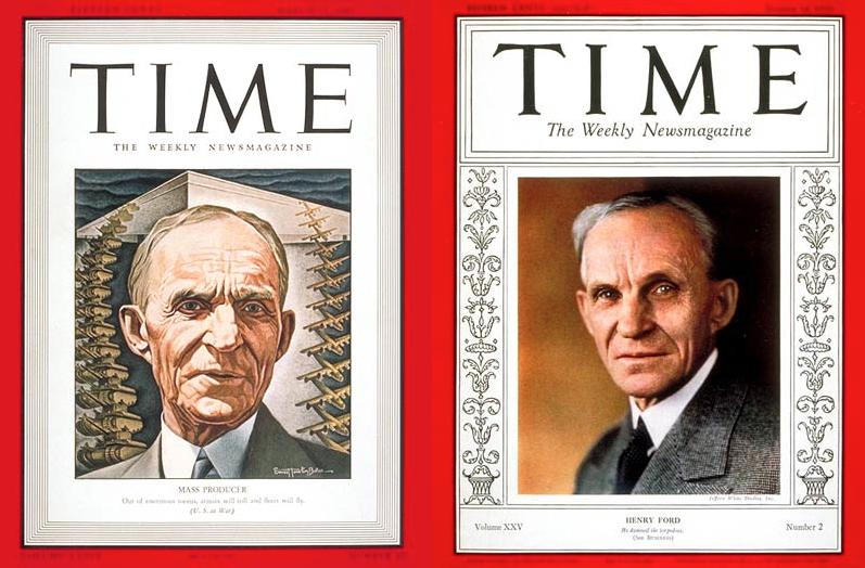 Time Magazine Ford & Grandson