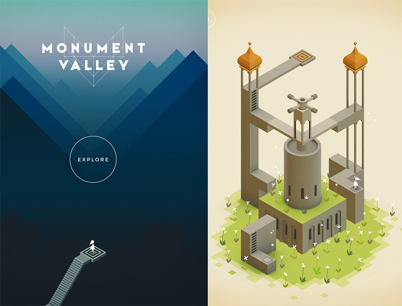 Amazing Video Game Monument Valley
