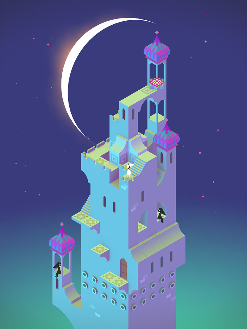 This App is Meditative Monument Valley