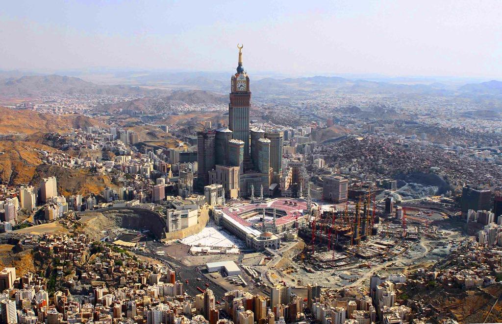 Mecca Has Many Hotels