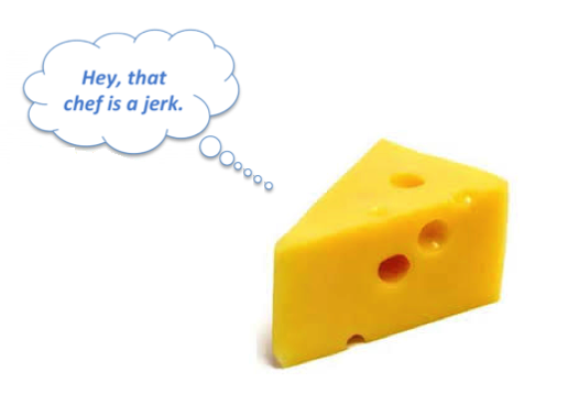 The angry cheese and the management that gets all the credit