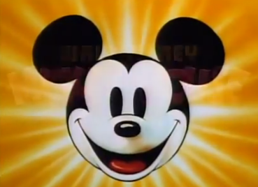 The classic Mickey Mouse Head
