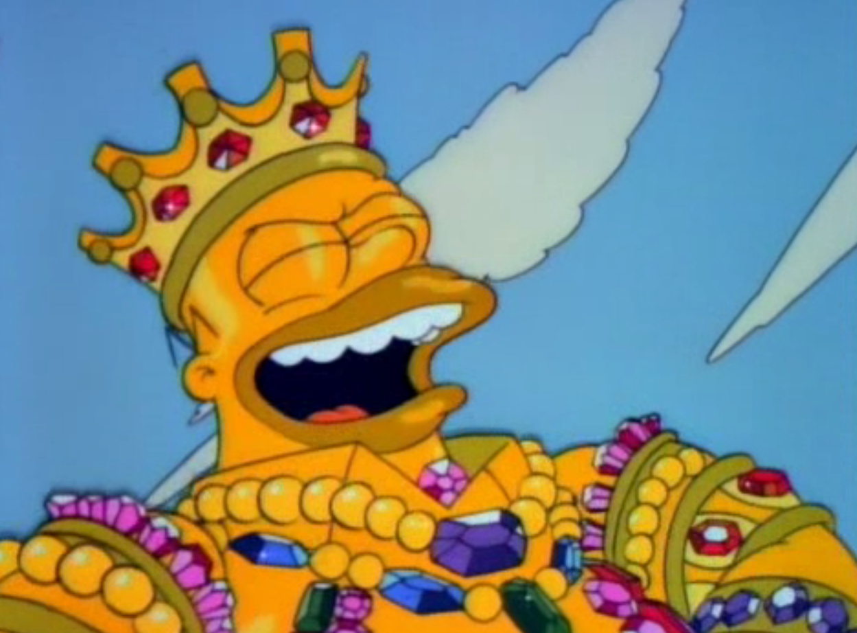 Viral of Content Marketing is King Homer Simpson
