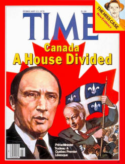 Canada Divided in te 1960s