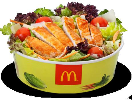 mcdonald salad
