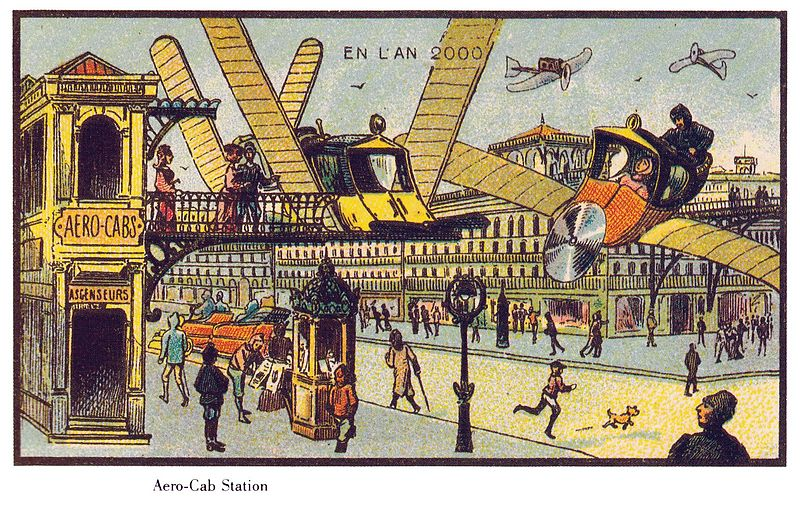 Air Transport in France in the Year 2000