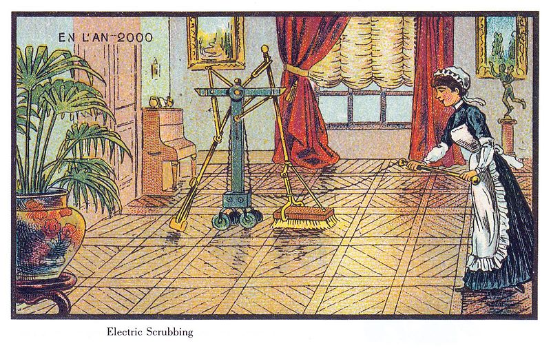 Automates Floor Cleaning in France in the Year 2000