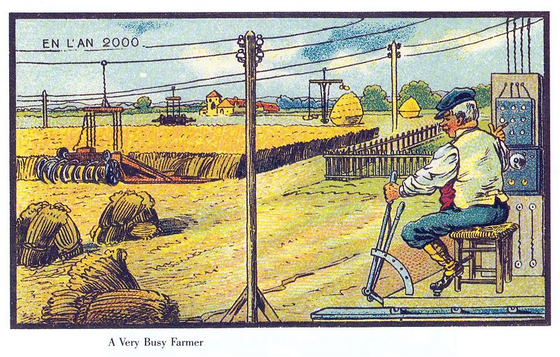 Farming in France in the Year 2000