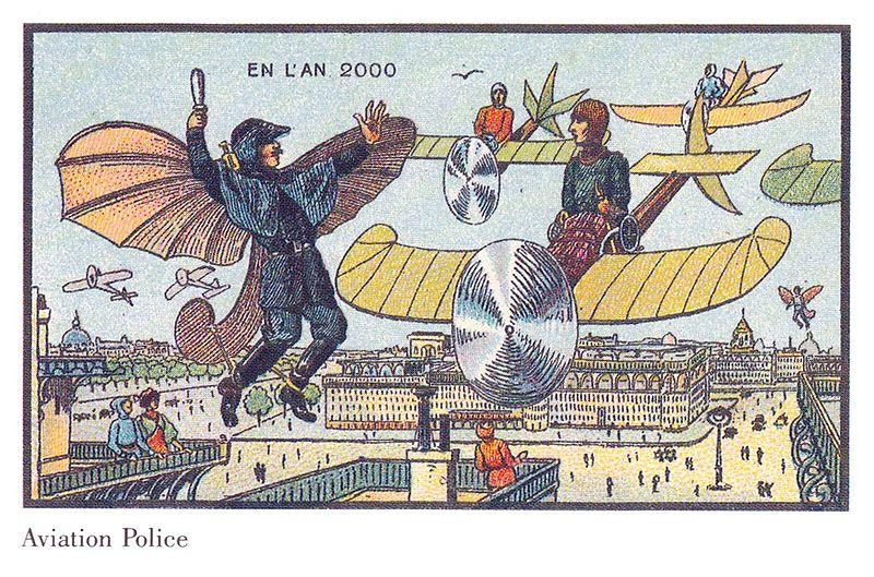 Flying Police in France