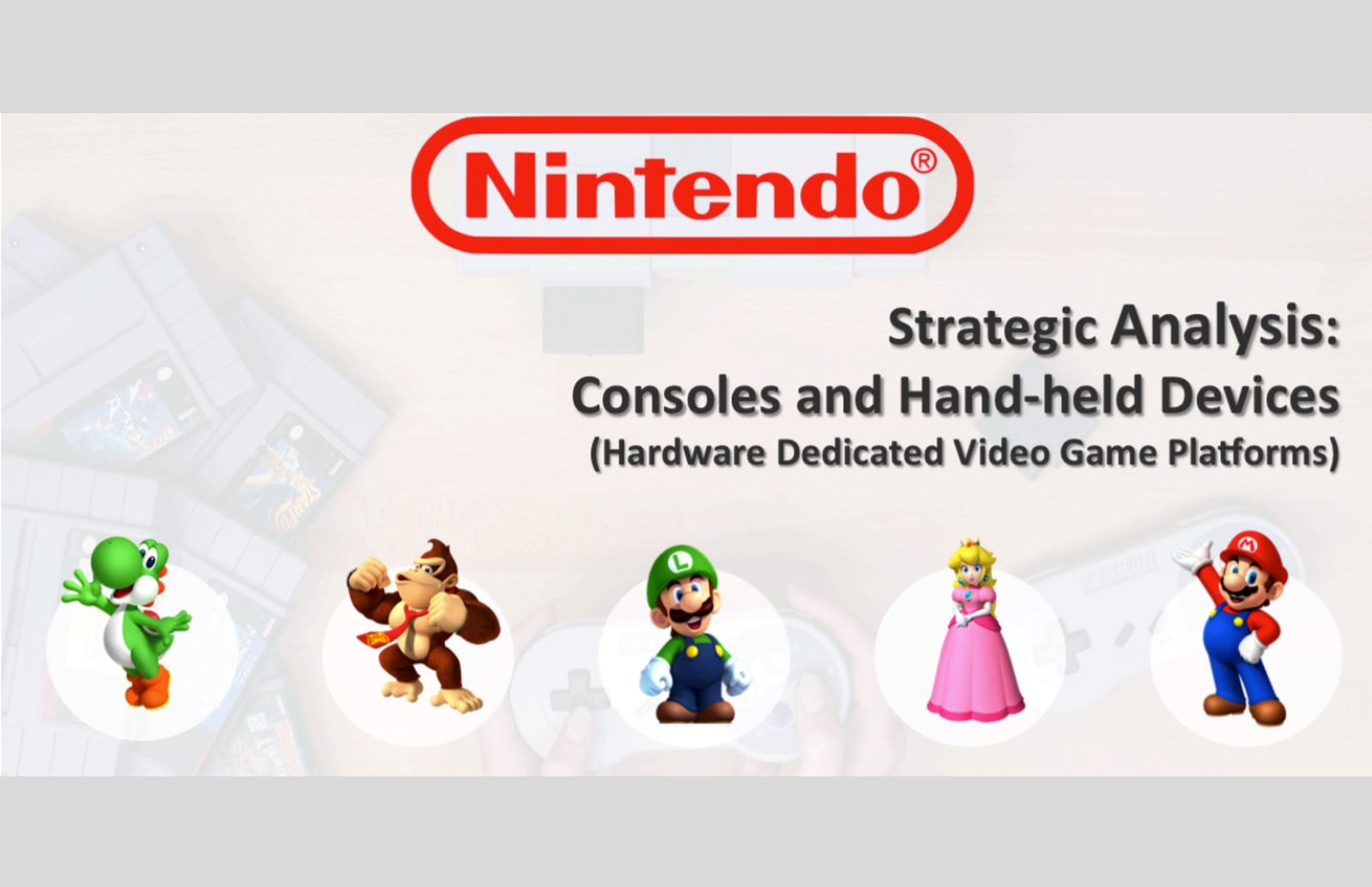 SWOT Analysis of Nintendo